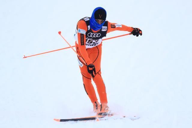 Овации зрителей стали главной наградой для лыжника из Венесуэлы.