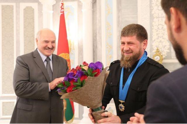 Александр Лукашенко и Рамзан Кадыров.