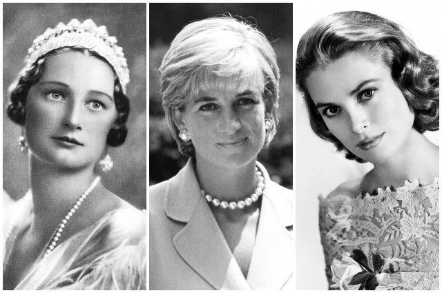 Королева Бельгии Астрид Шведская, Принцесса Уэльская Диана и княгиня Монако Грейс Келли.