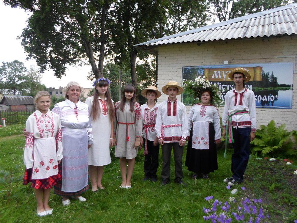 Празднование в агрогородоке Зароново.