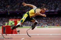 Оскар Писториус стал самым титулованным бегуном на протезах.