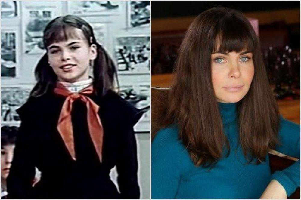 Инна Гомес – школьница из будущего в космопорте. «Гостья из будущего» (1984)