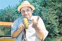 Огурец – мощное оружие в профилактике опасных заболеваний. «Кавказская пленница», 1987 год.
