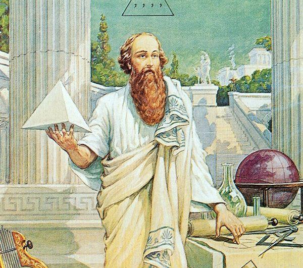 Пифагор был великим математиком, философом, основателем религиозно-философского течения (пифагореизма), политиком, оставившим свои труды потомкам. Когда Пифагору было 60 лет, среди женщин, проходивших обучение в его школе, он встретил юную Феано, которая была в него влюблена. Вскоре они поженились, при этом семья Пифагора представляла собой истинный образец для всего ордена: его дом называли храмом Цереры, а двор - храмом Муз.