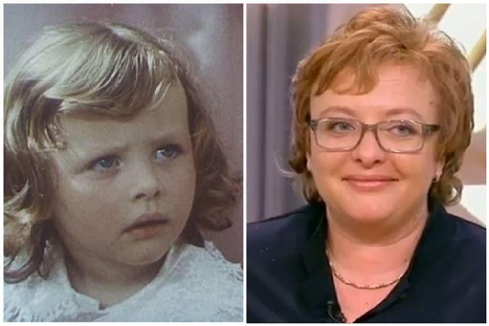Инна Степанова - ребёнок «Про Красную Шапочку» (1977)
