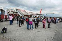 Пассажиры компании Air India.