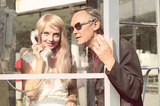 Красавиц режиссер снимал много. Но единственной для него оставалась жена.