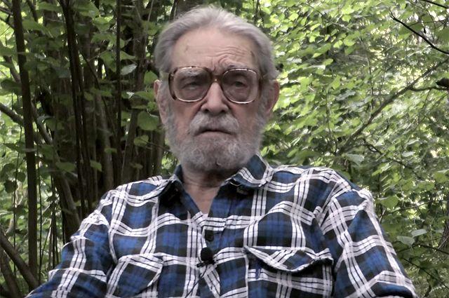 Писатель Владимир Бушин.
