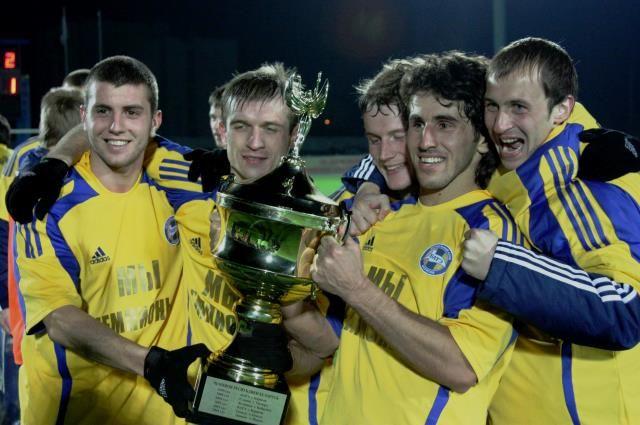 Футболисты борисовского БАТЭ 13 раз подряд становились чемпионами страны.