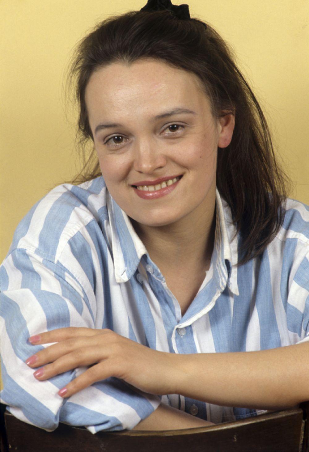 Солистка ансамбля «Золотое кольцо» Надежда Кадышева, 1988 год.