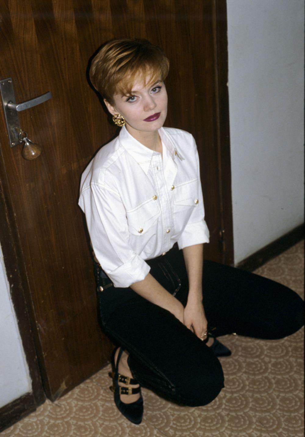 Певица Валерия, 1992 год.