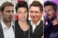 Марат Сафин, Дима Билан, Тимур Батрутдинов и Сергей Лазарев