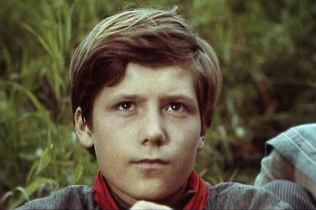 Сергей Шевкуненко в фильме «Бронзовая птица», 1974 год.