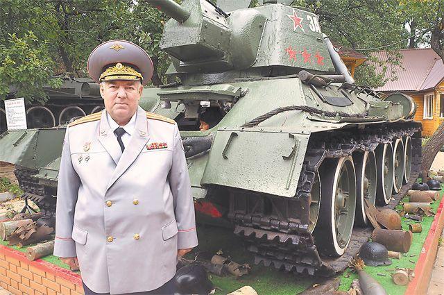 История стала делом жизни полковника.