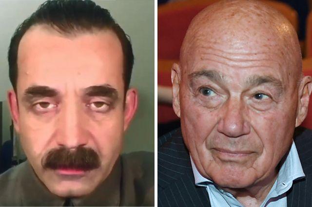 Дмитрий Певцов и Владимир Познер.