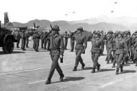 350-й гвардейский парашютно-десантный полк в Кабуле.