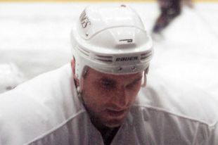 Владимир Цыплаков в команде «Лос-Анджелес Кингз».