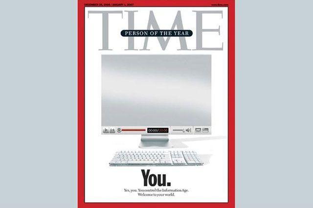 Обложка журнала Time 2006 года.