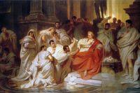 Убийство Цезаря.