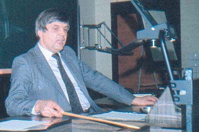Профессор Владимир Александров.