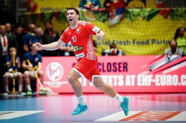Белорусские гандболисты обыграли сборную Чехии на чемпионате Европы-2020