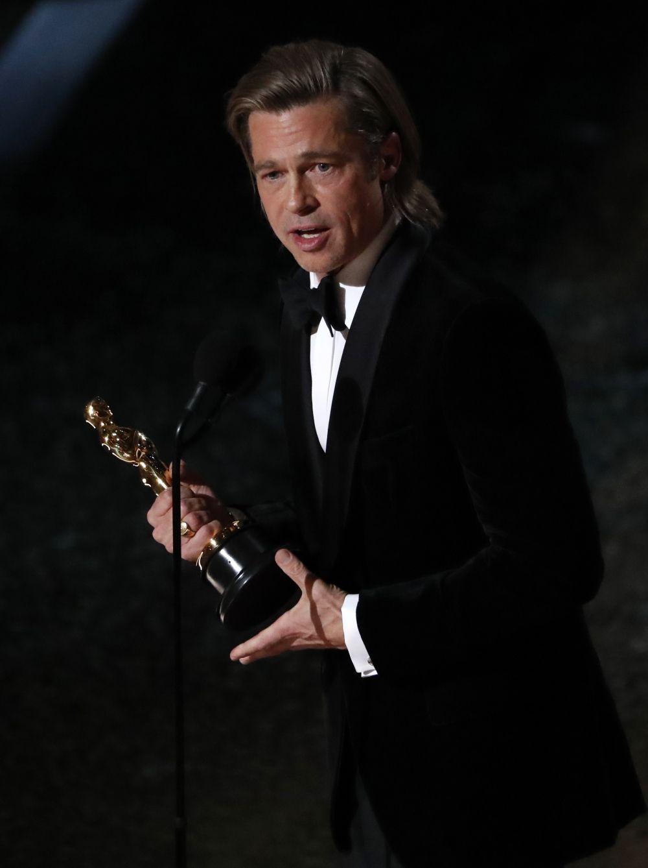 Лучший актер второго плана: Брэд Питт – «Однажды… в Голливуде».