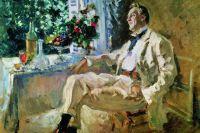 Константин Коровин. Портрет Ф.И.Шаляпина. 1911 год.