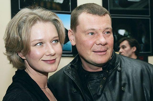 Дарья Михайлова с супругом Владиславом Галкиным, 2008 г.