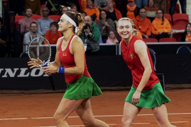 Главными героинями месяца стали Арина Соболенко и Александра Саснович.