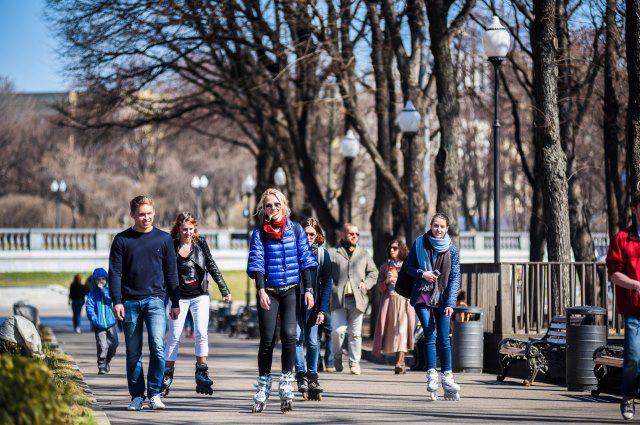 Городское население Беларуси составляет почти 7,3 млн человек.