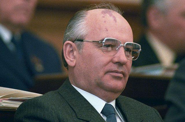 Михаил Горбачёв, 1981 г.
