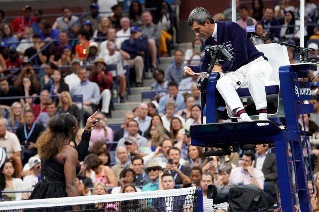 Карлос Рамос, известный своей принципиальностью, остался непреклонен перед звездой мирового тенниса.