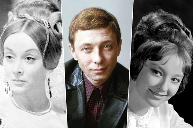 Маргарита Терехова, Олег Даль и Анастасия Вертинская.