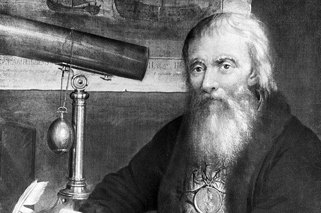 Портрет Ивана Петровича Кулибина. Художник Веденецкий, 1818 г.