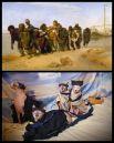 В сети необычно повторили картину И.Е.Репина «Бурлаки на Волге».
