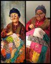 Одна из картин серии «Бабушки» грузинского художника Ладо Тевдорадзе.