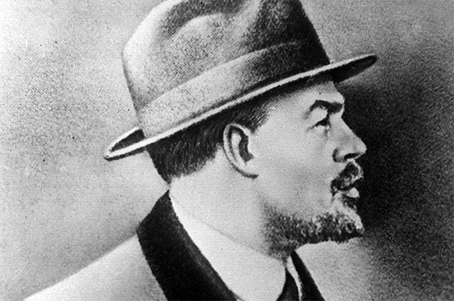 Владимир Ильич Ленин в Стокгольме. 1917 год.