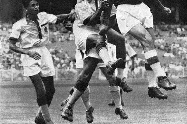 Олимпийская сборная Индии в портянках, 1948 г.