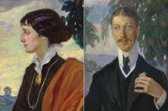 Анна Ахматова и Николай Гумилев.