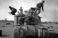 Танк M3 Lee.