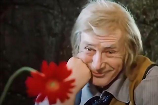 Николай Гринько в фильме «Приключения Буратино», 1975 год.