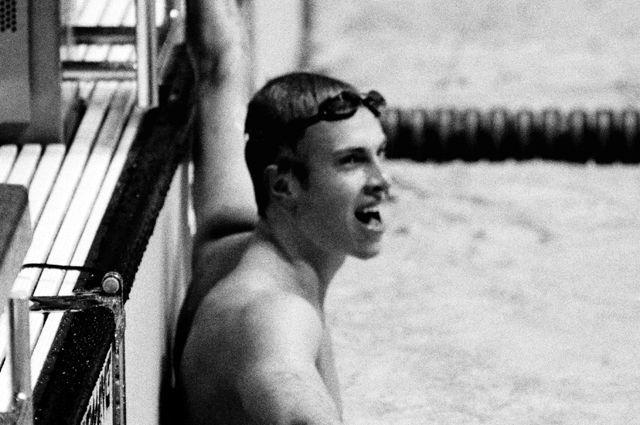 Олимпиада-80. Сальников устанавливает рекорд на дистанции 1500 м – 14 мин. 58,27 сек.
