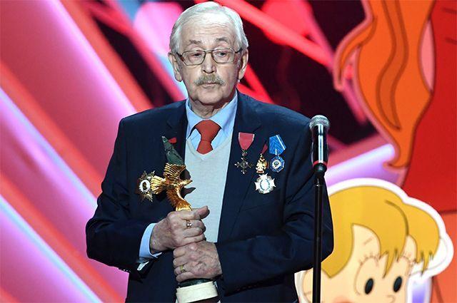Лауреат премии в номинации «За вклад в историю российского кинематографа» актер, режиссер, писатель, народный артист РСФСР Василий Ливанов.