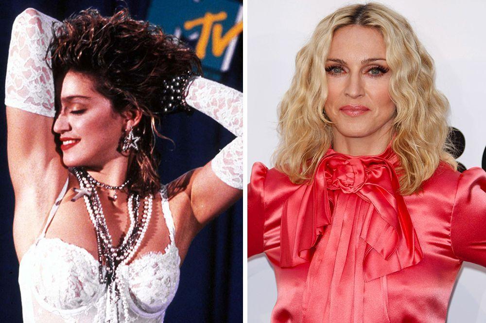 В конце 80-х Мадонна поменяла имидж и предстала в образе блондинки, какой мы ее и запомнили.