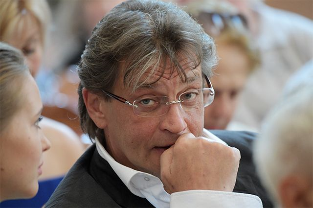 Актёр Александр Домогаров.