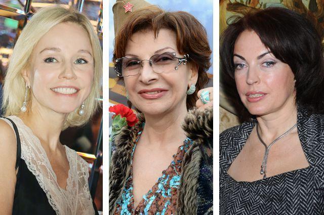 Марина Зудина, Роксана Бабаян, Елена Бомбина.