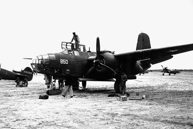 Один из лучших в советской авиации бомбардировщик «Бостон»