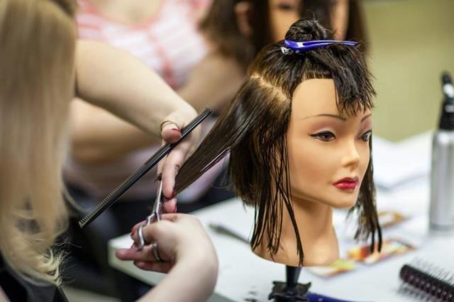За 9 месяцев можно обучиться парикмахерскому мастерству.