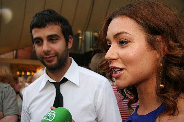 Иван Ургант и Татьяна Геворкян.