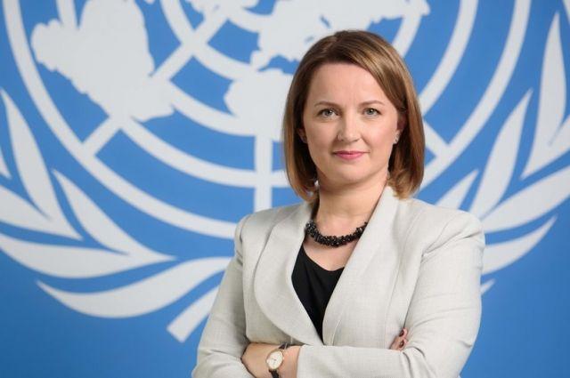 Постоянный координатор ООН в Беларуси Иоанна Казана-Вишневецкий.